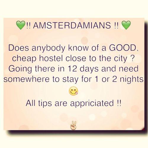 Amsterdam Roadtrip Hostel Amsterdamhostel helpme