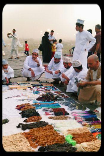 Everyday Lives beads Merchants in Jab Al-Rahma, Mecca Saudi Arabia