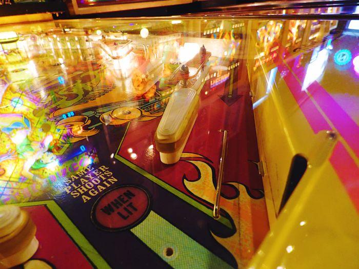 Vintagearcade Pinball Rollerskates Vivid Colors Urban Lifestyle