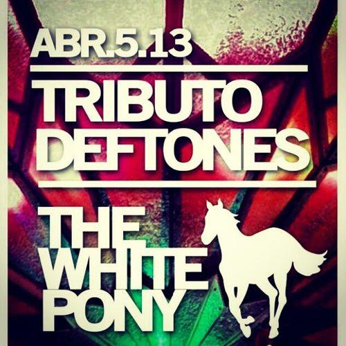 Viernes en calle club Tributo TheWhitePony Deftones