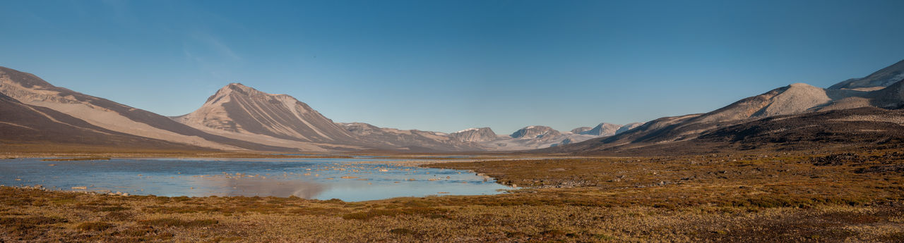 Panoramic landscape from greenland