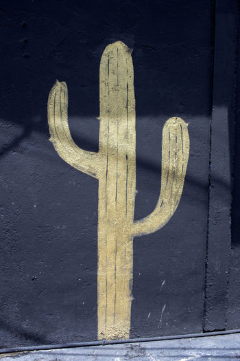 Cactus Gold Painting Street