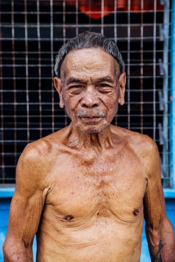 I never got his name but what other people told me is that he sits down everyday and reads the Bible. Whenever there is a quiz about the Bible, he always wins. People Documentary Faces Sarawak Potrait Portrait