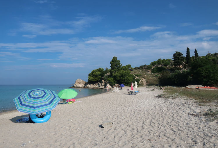 Kaviou beach, Sithonia - Greece GREECE ♥♥ Kaviou Beach Nature Summertime Travel Vacations Beach Blue Chalkidiki Cloud - Sky Greece Landscape Nature Nikiti Resort Sand Scenics - Nature Sea Sithonia Sky Summer Tourism Travel Destinations Vacation Water