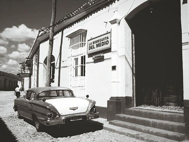 Streetphotography Cuba Trinidad'street