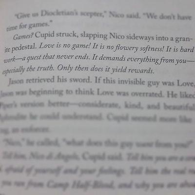 Cupid = Love Houseofhades Rickriordan Heroesofolympus