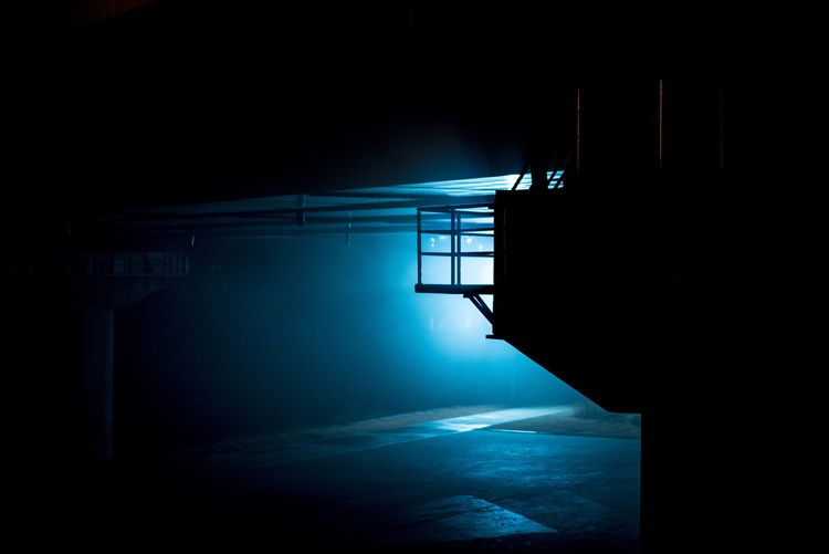 darkness and light Darkness Outdoor Night Blue Light Bright Dark No People Domestic Room Illuminated Architecture Day