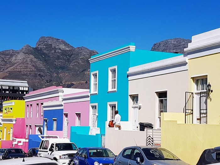 Bokaap Cape Town South Africa Color Palette Colorblocks Neighborhood Map The Architect - 2017 EyeEm Awards
