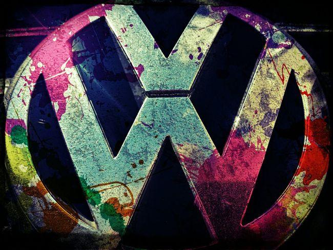 Volkswagen I Love My Volkswagen Volkswagenpassat Volkswagen! Volkswagenlogo Volkswagens Carlogo Painted Colorfull Logo