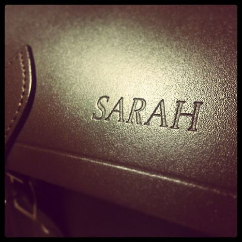Cambridgesatchel Satchel  Love Favouritebag Personalised Sarah Fashion Instafashion Satchel