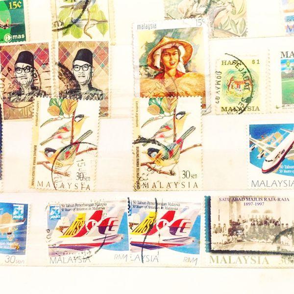 Malaysia Stamps Postage Stamps Stamp Album Philately Philatelist EyeEmNewHere