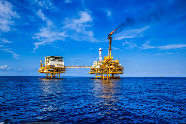 Offshore Industry Oil And Gas Protection Petroleum Pipeline My Best Photo
