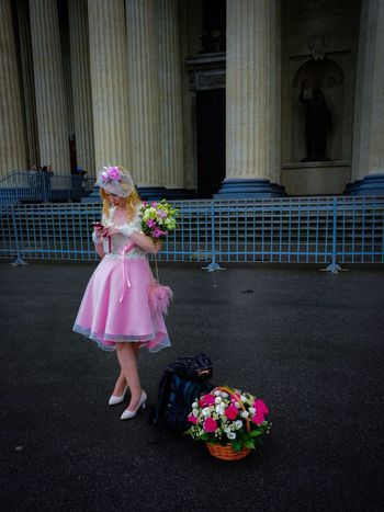 Russia россия Wedding Day Waitingforyou Flower One Girl Only Pink Color Blond Hair