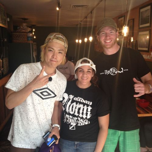 Korean Actor Yasuo Namekawa AKA Kangnam TV Show Video Shoot @hiblend Truly Blessed To Be Surrounded With Many Supporters From All Over World HEALTH UNITES US ALL Awesomely Healthy Moment With The @hiblend #hiblend CREW Making Great Connections 1 Healthy Meal @ A Time Sourcing Local, Non GMO, All Natural & Organic Ingredients STAY HEALTHY FRIENDS Thank You For Supporting Local Hawaii CLEAN & HEALTHY LIVING Venturehawaii Hawaiilife KANGNAM MadeInHawaii Hiblend Celebritysupport Hawaii Life Supportinglocal Celebrity