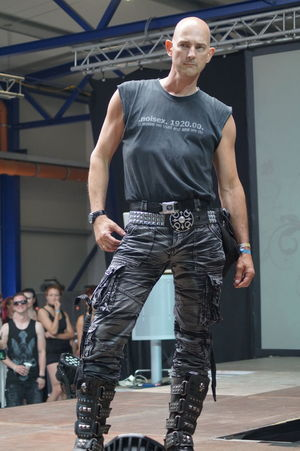 Fashion Show Front View Goth Gothic Style Indoors  Mera Luna Festival One Person Posing Real People Standing