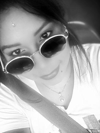 Blackandwhite Glasses Blancoynegro Miradas Face Labios