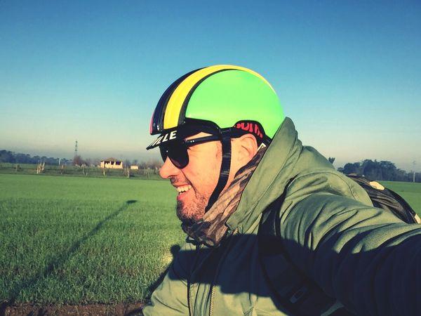 Che mattina per pedalare!!!!!