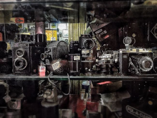 Day 18 - Old timers iPhone 6 - Snapseed, PS Express