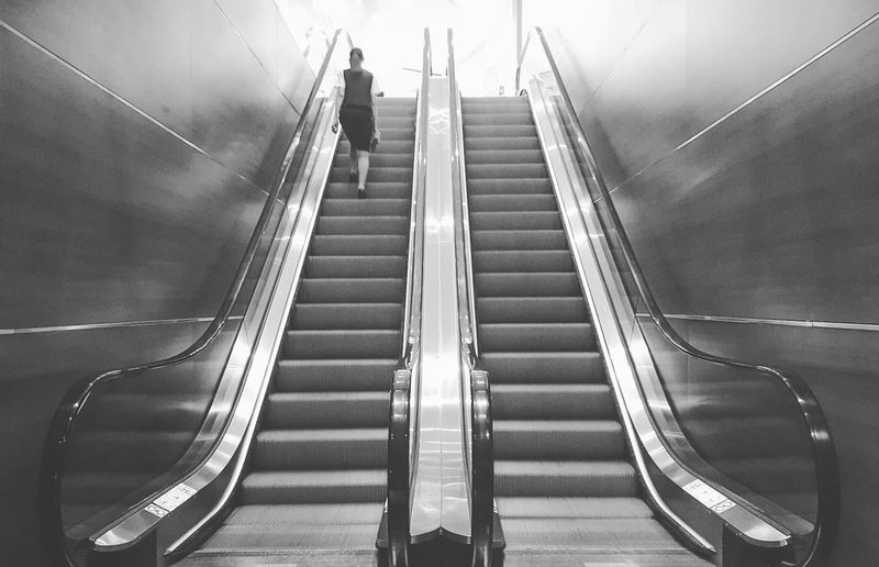 Staircase Steps And Staircases Steps Low Angle View Indoors  No People Day City Architecture Business Finance And Industry Blackandwhite Adventures In The City The Street Photographer - 2018 EyeEm Awards