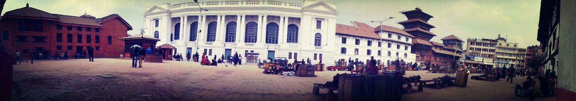 Panaroma test... . Panaroma Durbar Square