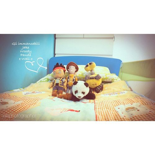 Toysphotography Bedtime Project Bed Jake Pirate Wall-e Woody Panda