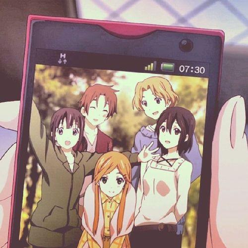 KokoroConnect Anime Otaku Drama Sugoi que bonito:'(
