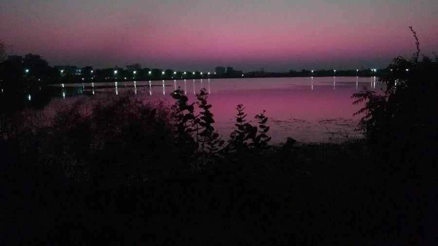 Arora neon sky