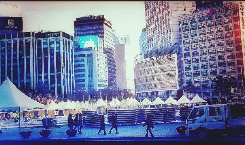 City Hall Event Tentage Seoul