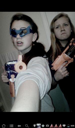 Nurf Gun War Game Face