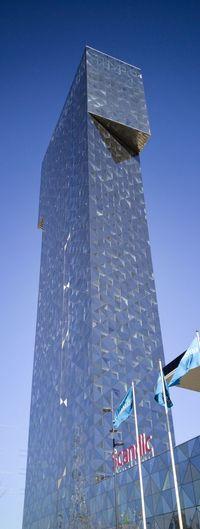 Architecture Architecture_collection Architectureporn Clear Blue Sky No Edit/no Filter LG G4📱 Scandic Victoria Tower Hotel Kista Victoria Tower