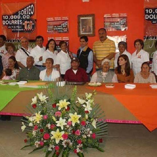 Entrega premios Sorteo 2013 Descubrezacatecas Zacatecas Riograndezacatecas Asilodeancianos