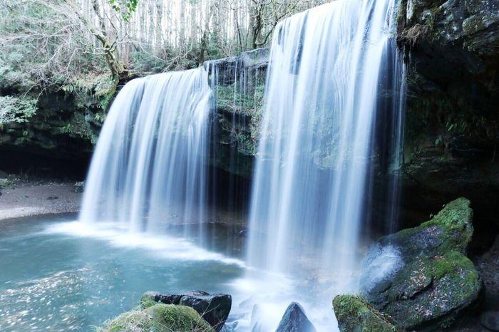 鍋ヶ滝 熊本県 滝 日本 Japanese  Canon Student Likeforlike L4l Japan Waterfall Forest