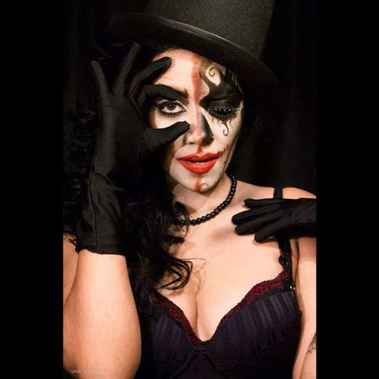 Maquiagemprofissional Maquiagemartistica Maquiagem Maquiadora makeup circus magic luescarbemakeup Foto/Edição: @ianadomingosfotografias