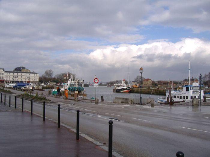 Sea France Sky Porto Clouds And Sky At Port D'Honfleur Skyporn Cielo Mer Port Mare Normandy Francia Normandie Honfleur Normandia