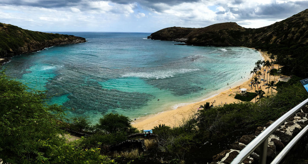 Amazing Beach Hanauma Bay Hawaii Hawaiian IPhoneography Nationalpark Photography Snorkeling Summer First Eyeem Photo
