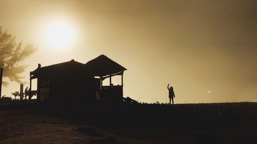 Paint The Town Yellow Silhouette Sunrise Outdoors Lifestyles Beach Rio De Janeiro Grumari
