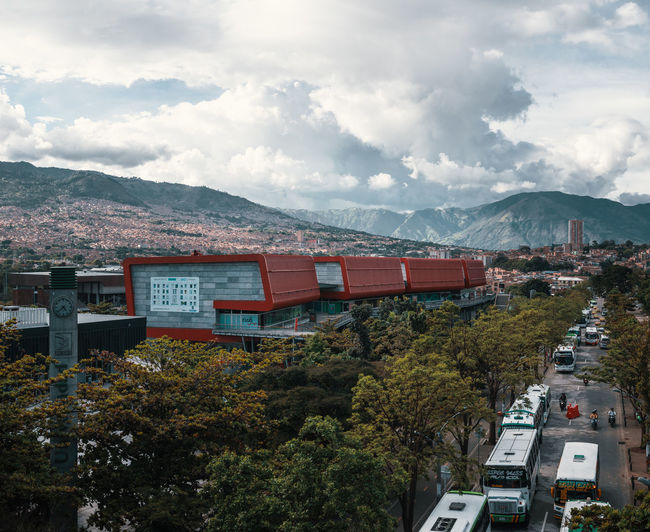 Exploring the city of Medellín. Architecture Building Exterior Built Structure City Nature Outdoors Travel Destinations South America Latin America Explore Urban Mountain Sky Cloud - Sky Plant Tree Transportation Building No People High Angle View Day Mountain Range Travel Road Motor Vehicle Range Shopping