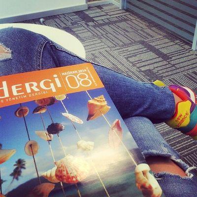 Şimdiden okumaya başladığım İK dergileri :) Sıkıntı Beklemek Ik