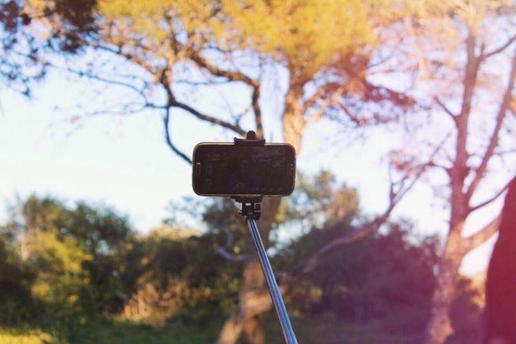Selfi ❤️💜 by : me 📷