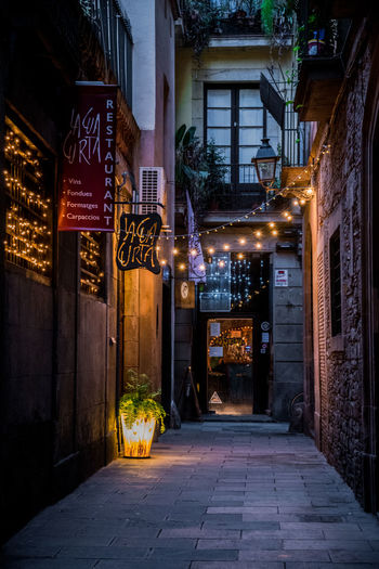 Barcelona Catalunya Cities At Night City Life City Street Cityscape Street Light Summertime Travel Travel Photography Architecture Building Exterior Built Structure City Illuminated Neon Night No People Outdoors Street Street Photography Streetphotography Summer The Week On EyeEm Travel Destinations