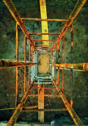 Columnas Acero Armaduras Obracivil Perspectiva Obras Arquitectura