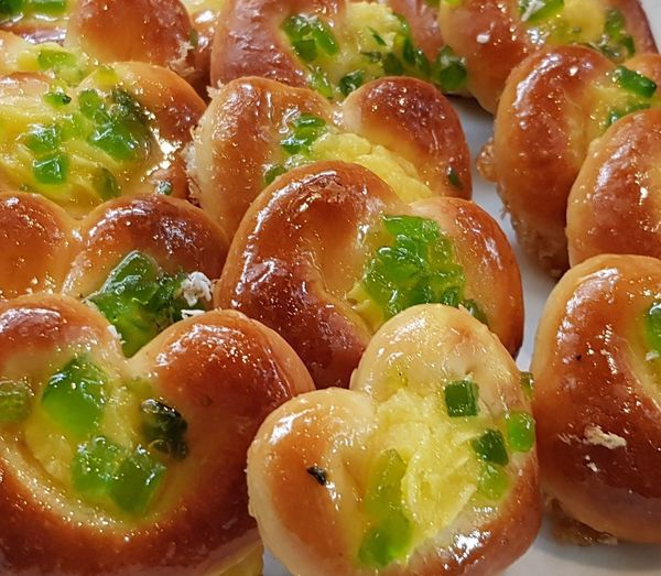 Danish Sweet Food Cakes Backgrounds Close-up Food And Drink Pastry