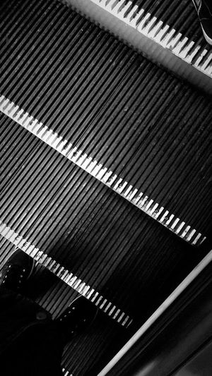 High angle view of computer keyboard