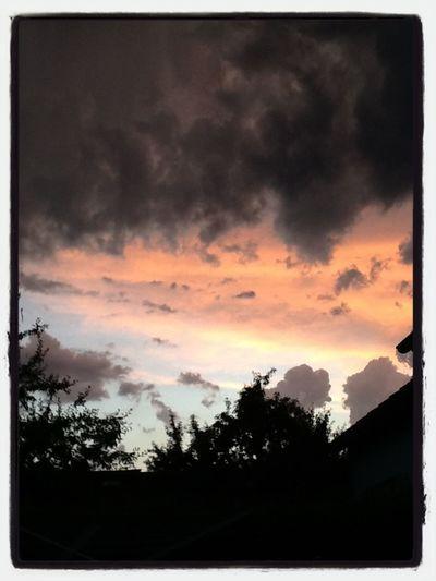 Dietikon Abendstimmung Clouds And Sky