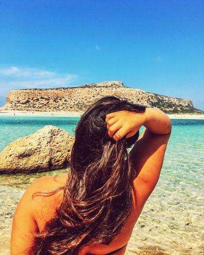 Balos beach Greece Crete Sea Balosbeach Beach First Eyeem Photo