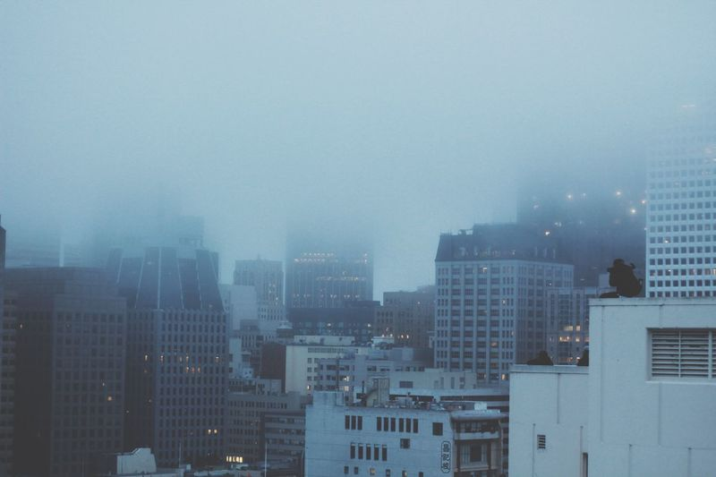 San Fran Fogged