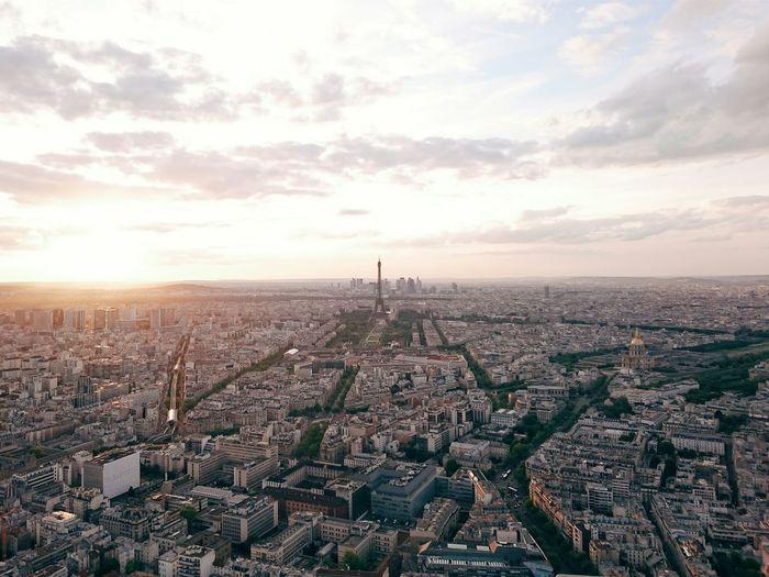 From The Rooftop Paris Tour Eiffel Tour Montparnasse EyeEm X WhiteWall: Cities