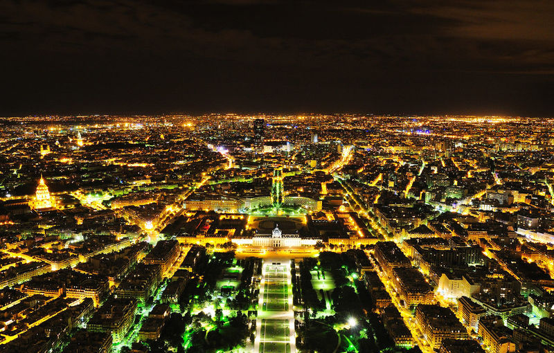 Paris at Night Cities At Night City Cityscape Night Lights Nightphotography Paris Paris By Night Paris ❤ Paris, France  ParisByNight River View Architecture Building Exterior Built Structure City City Lights City Night Cityscape High Angle View Illuminated Night No People Outdoors Sky View From Above Mobility In Mega Cities