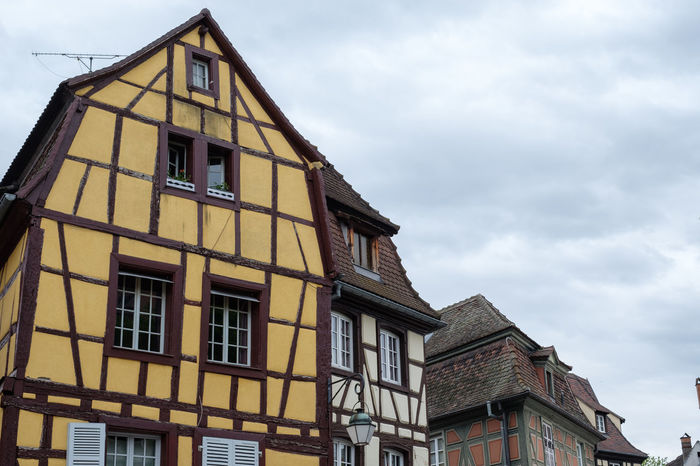 Alsace Architecture Building Exterior Built Structure City Europe Eye4photography  EyeEm Best Shots EyeEm Gallery Façade History No Filter No People Residential Building Sky Travel Destinations Window