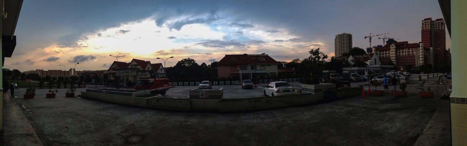 Singapore Street Photography Iphone5C Beautiful Scenery Sky Panorama